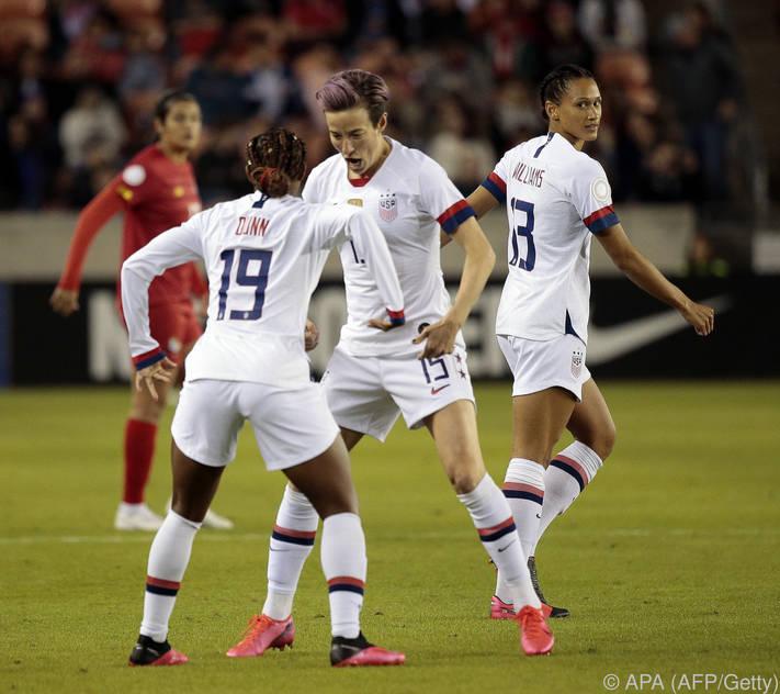 Die US-Weltmeisterinnen klagten ihren eigenen Verband