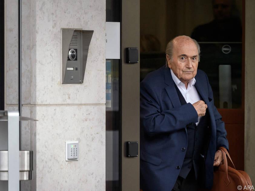 Archivbild von Ex-FIFA-Präsident Sepp Blatter aus dem Vorjahr