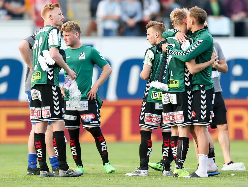 Die SV Ried verpasste den Aufstieg knapp gegen Wattens