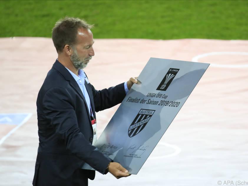 Beim Cupfinale in Klagenfurt war von Trennung noch keine Rede