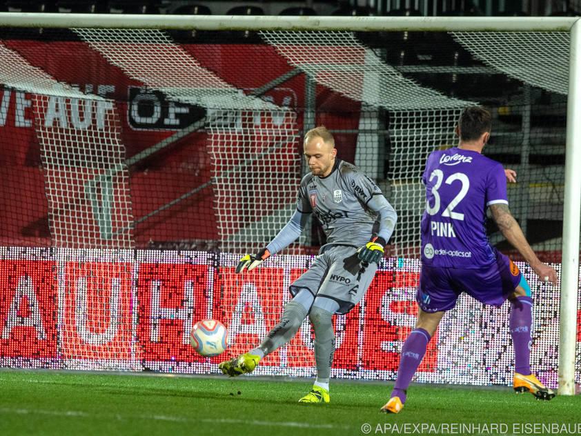 Pink ebnete der Austria mit einem Doppelpack den Sieg