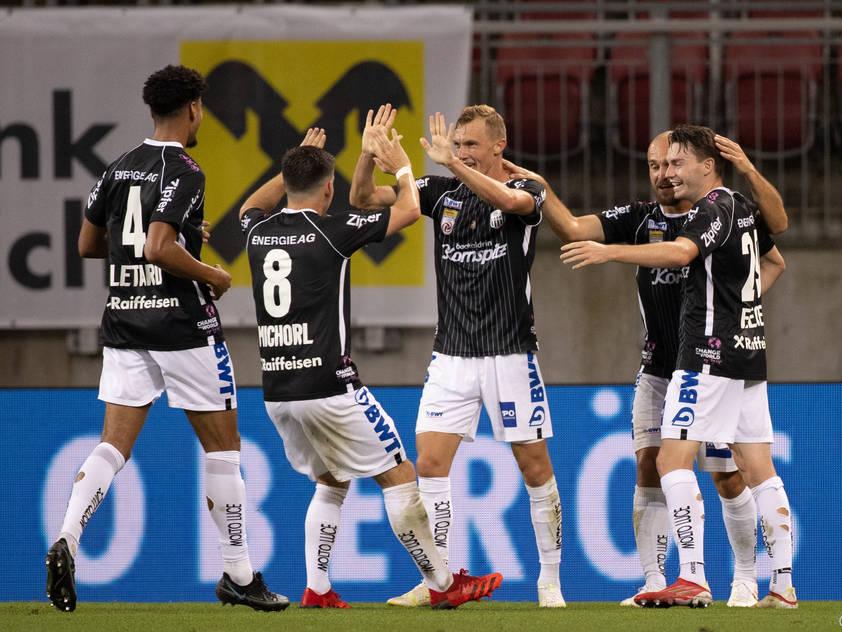 Der LASK spielte sich gegen Vojvodina in einen Rausch