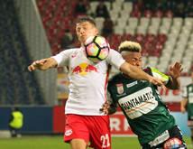 Salzburg kämpfte mit einer starken Ried-Defensive