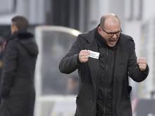 Altach-Trainer Martin Scherb will drei Punkte einfahren