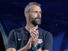 Salzburg-Coach Marco Rose mussauf einige Stützen verzichten