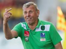 Wacker-Coach Daxbacher zollt dem Gegner Respekt