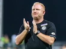 Für Sturm-Coach Heiko Vogel geht es um eine ruhige Länderspielpause