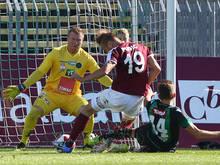 Die Mattersburger spielten gegen Wacker Innsbruck ihre Überzahl aus