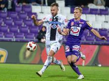 Sturm Graz entführte schon einige Punkte aus dem Horr-Stadion