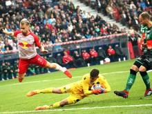 Innsbruck nahm dem Meister erste Punkte ab