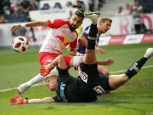 Die meisten Teams gehen gegen Salzburg leer aus