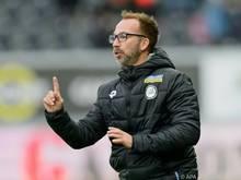 Roman Mählich freut sich auf sein erstes Heimspiel als Sturm-Trainer