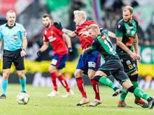 Wacker Innsbruck musste Sekunden vor Schluss entscheidenden Rapid-Treffer hinnehmen