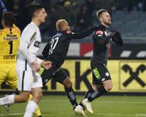 Peter Žulj erzielte das sehenswerte 2:0 für Sturm