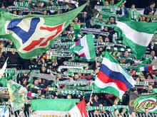 Rapid-Fans sorgen immer wieder für Unruhe