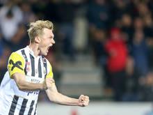 Thomas Goiginger machte gegen Wacker Innsbruck den Sack zu