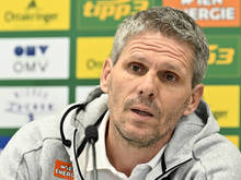 Rapid-Trainer Dietmar Kühbauer muss auf Schützenhilfe hoffen