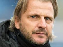 Hartberg-Trainer Markus Schopp weist die Favoritenrolle von sich