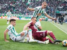 Rapid feierte gegen Mattersburg 3. Sieg im 3. Qualigruppen-Spiel