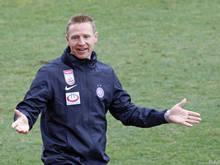 Austria-Trainer Robert Ibertsberger ist nicht zu beneiden