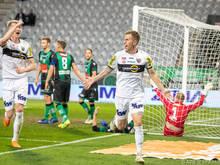 Altach machte in Innsbruck mit vier Toren in zwölf Minuten alles klar