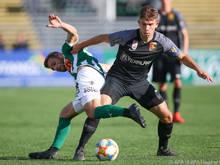 Mattersburg verspielte beim 1:1 zu Hause gegen die Admira Punkte