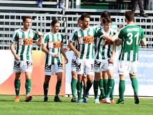 Mattersburg gewann auch das zweite Heimspiel gegen Rapid