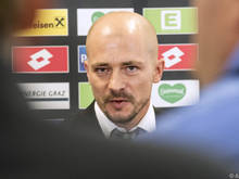 Der neue Sturm-Trainer Nestor El Maestro