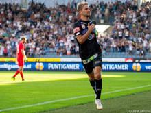 Lukas Grozurek wechselt in die zweite deutsche Liga