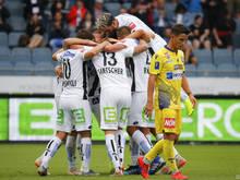 Sturm Graz gewann 3:0 gegen SKN St. Pölten
