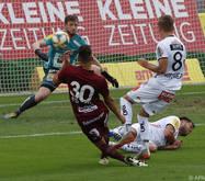 Fünf Tore gegen Altach für den WAC