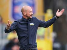 Sturm-Trainer El Maestro sieht sein Team als Favorit