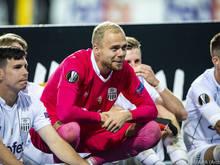 Der LASK setzt weiterhin auf Goalie Alexander Schlager