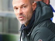 St. Pölten-Coach Alexander Schmidt