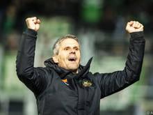 Rapid-Trainer Dietmar Kühbauer gibt sich optimistisch