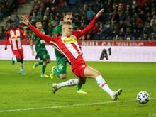 Salzburg setzte sich klar gegen die WSG Tirol durch