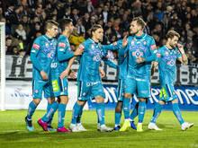 Sturm Graz hofft auf den Verbleib über dem Strich