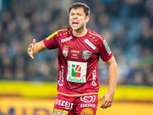 Nemanja Rnić muss nach Ellbogencheck im Frühjahr dreimal zuschauen
