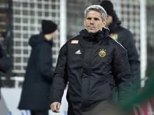Rapid-Coach Didi Kühbauer verlangt gegen Tirol einen Heimsieg