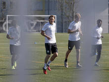 Auch in Graz wird wieder trainiert