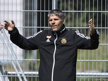 Rapid-Trainer Kühbauer gehen die Fans jetzt schon ab