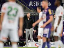 Austria-Trainer Christian Ilzer darf sich über zwei Siege in Serie freuen