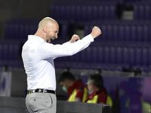 Freude bei Austria-Trainer Christian Ilzer