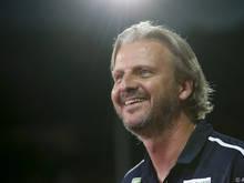 Hartberg-Coach Schopp hat gut lachen