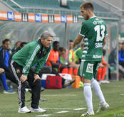 Rapid-Coach Dietmar Kühbauer kann erleichtert sein