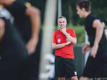 Dominik Thalhammer will seinen neuen Verein siegen sehen