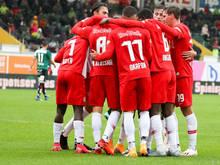 Salzburg bleibt nach dem hart-erkämpften Auswärtssieg Tabellenführer