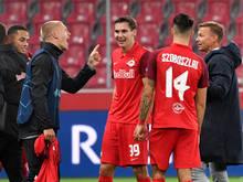 Die Salzburger wollen auch gegen die Hartberger wieder ein Erfolgserlebnis haben