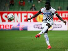 Der 20-jährige Amadou Dante aus Mali fühlt sich wohl in Graz