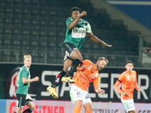 Die Rieder setzten sich Zuhause gegen den TSV Hartberg durch